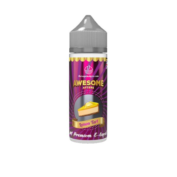 Awesome Afters 100ml Shortfill 0mg E-liquid, Cloud Vaping UK