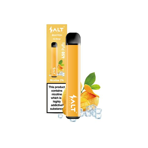 SALT Switch Disposable Vape Pod 20Mg, Cloud Vaping UK