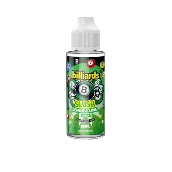 Billiards Slush Shortfill E-liquid 100ml, Cloud Vaping UK