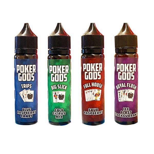 Poker Gods Shortfill E-liquid 50ml, Cloud Vaping UK