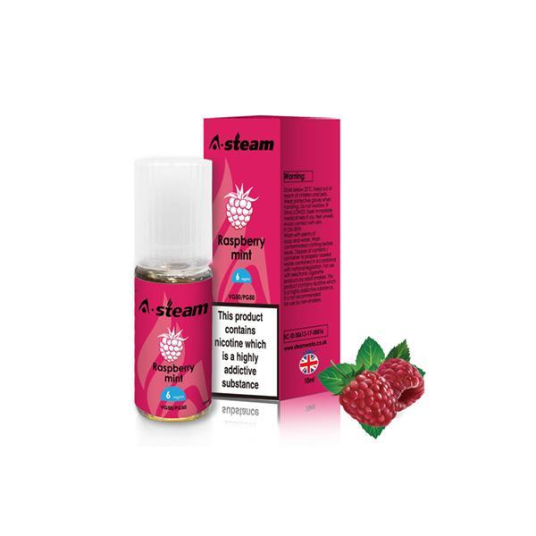 A-Steam Fruit Flavours 12MG 10 x 10ML E-liquid, Cloud Vaping UK