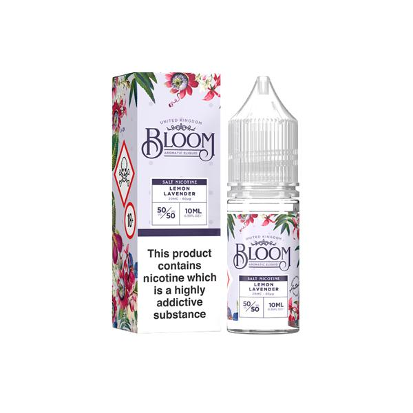 Bloom Nic Salt 10m 20Mg E-liquid, Cloud Vaping UK