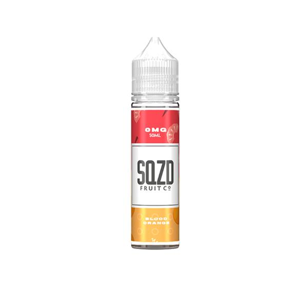 Sqzd 0mg 50ml Shortfill E-liquid, Cloud Vaping UK