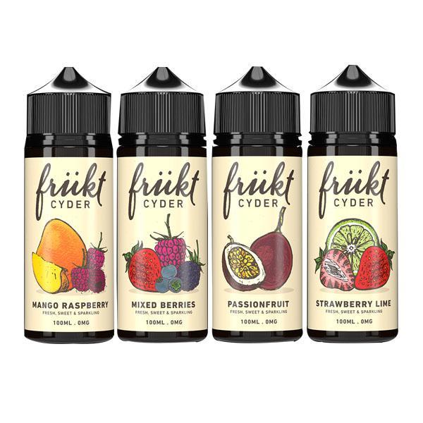 Frukt Cyder Shortfill E-liquid 100ml, Cloud Vaping UK