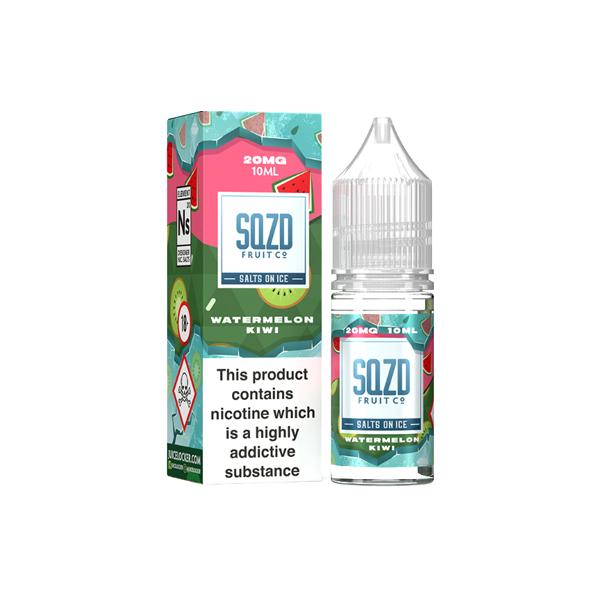 Sqzd On Ice 10ml 10Mg Nic Salts E-liquid, Cloud Vaping UK