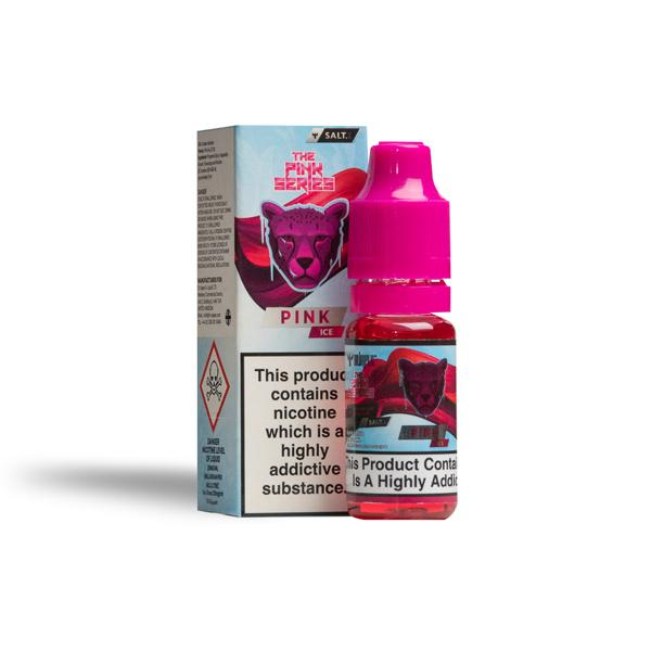 The Pink Series by Dr Vapes 10ml 20Mg Nic Salt E-liquid, Cloud Vaping UK