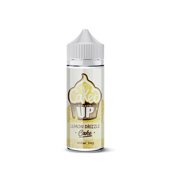 Caked Up 0mg 100ml Shortfill E-liquid, Cloud Vaping UK