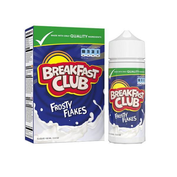 Breakfast Club Shortfill E-liquid 100ml, Cloud Vaping UK