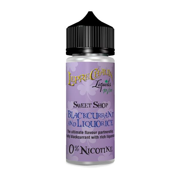 Leprechaun Sweet Shop 120ml (100ml Shortfill + 2 x 10ml Nic Shots) (70VG/30PG), Cloud Vaping UK