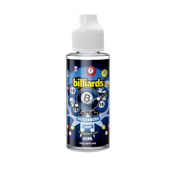 Billiards 0mg 100ml Shortfill E-liquid, Cloud Vaping UK