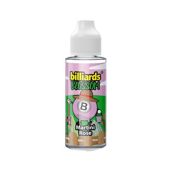 Billiards Blossom Range 100ml Shortfill E-liquid, Cloud Vaping UK