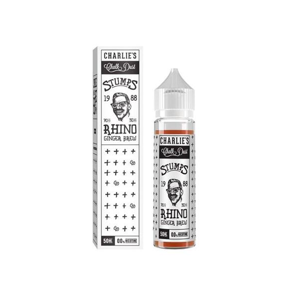 Charlie's Chalk Dust Stumps Range 50ml Shortfill E-liquid, Cloud Vaping UK