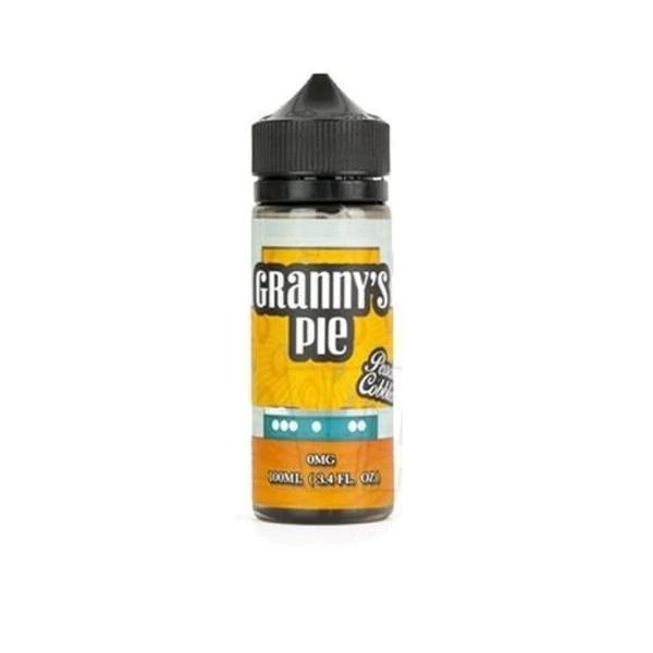 Grannys Pie Peach Cobbler 0mg 100ml Shortfill  E-liquid, Cloud Vaping UK