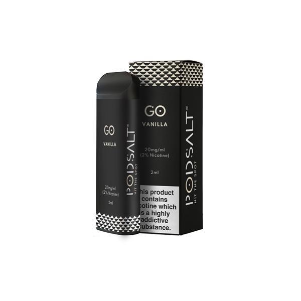 Pod Salt GO Disposable 20MG Nic Salt Vape Pod, Cloud Vaping UK
