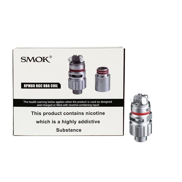 Smok RPM80 Replacement RGC RBA Coil 0.6Ohms, Cloud Vaping UK