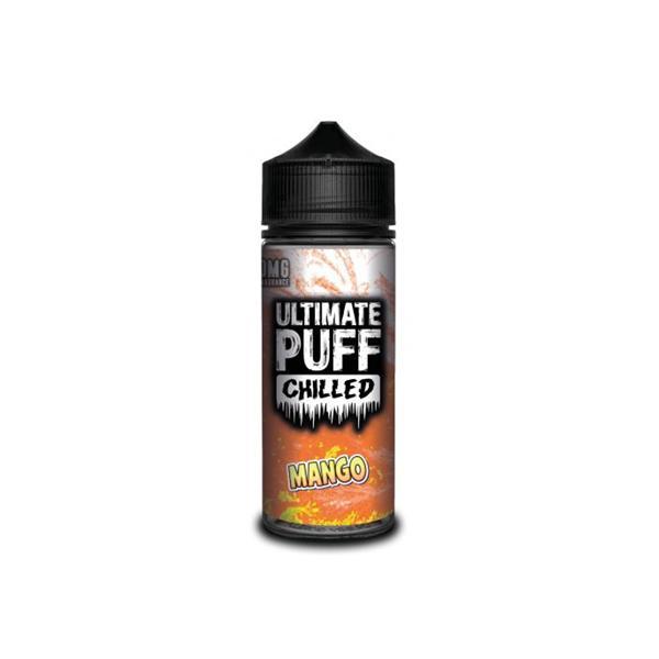 Ultimate Puff Chilled 0mg 100ml Shortfill E-liquid, Cloud Vaping UK