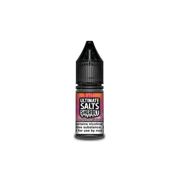 Ultimate Puff Salts Sherbet 10ML 20Mg Flavoured Nic Salts E-liquid, Cloud Vaping UK