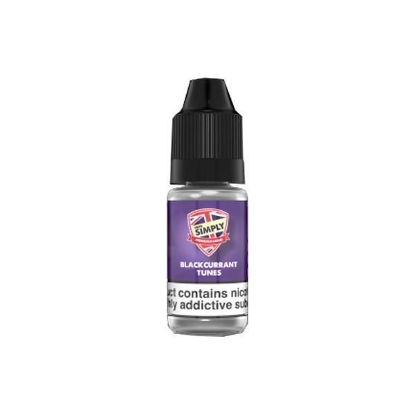 Vape Simply 18mg 10ml E-liquid, Cloud Vaping UK