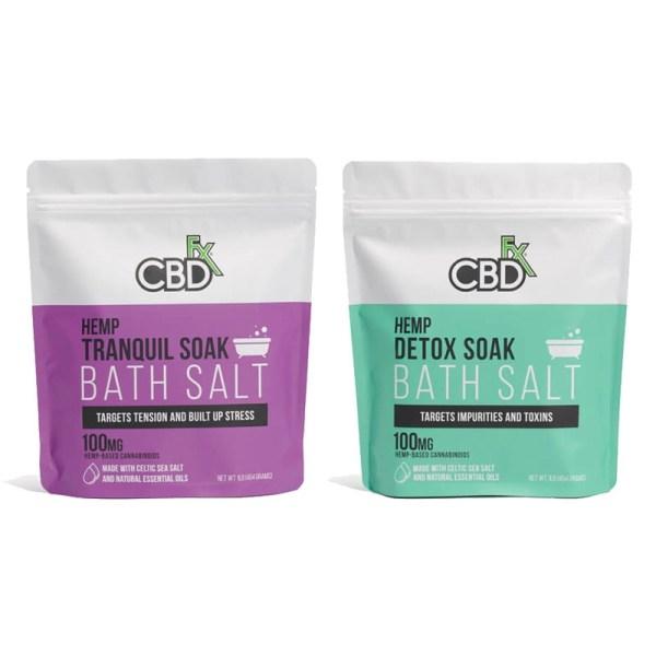 CBDfx Bath Salts, Cloud Vaping UK