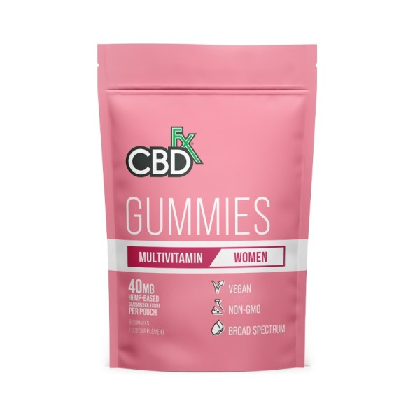 CBDfx Gummies – WOMENS Multivitamin (Pouch of 8), Cloud Vaping UK