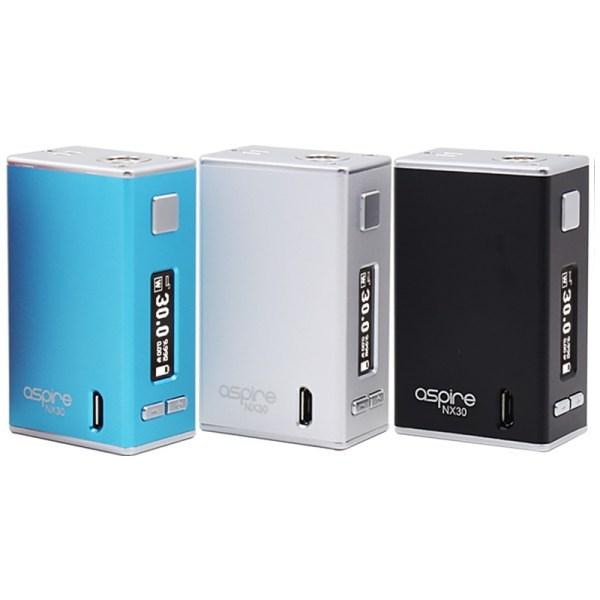 Aspire NX 30 Box Mod, Cloud Vaping UK