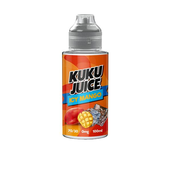Kuku Juice 0mg Shortfill E-liquid 100ml, Cloud Vaping UK