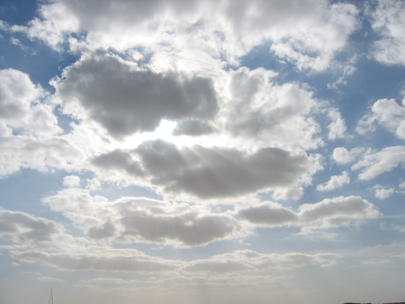 Clouds in Egypt