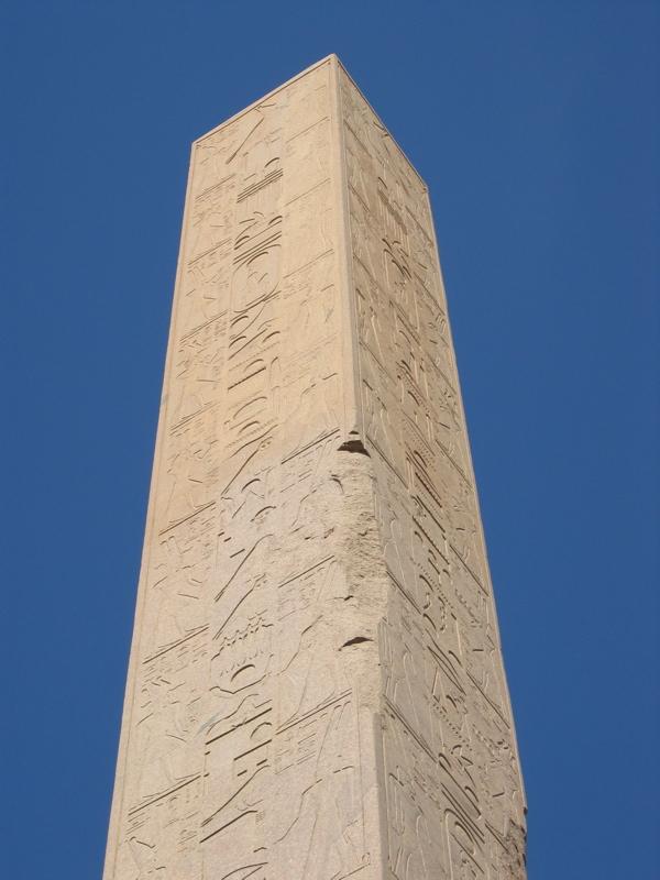 Hatshepsuts Obolisk at Karnak