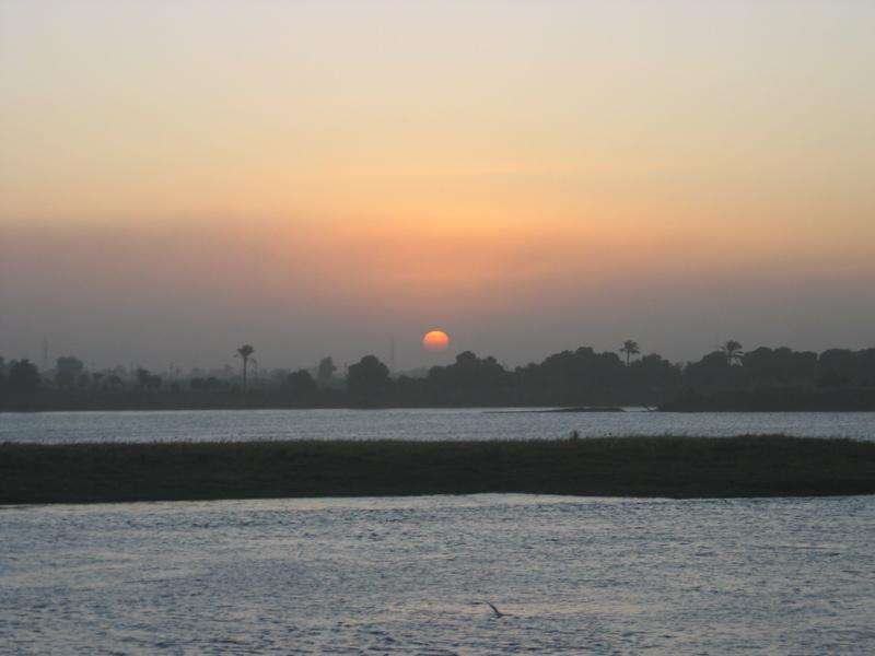 Sunrise at Edfu