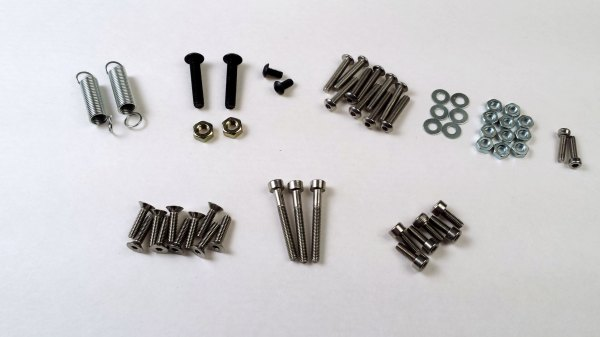 Itty Bitty Double Extruder Hardware Kit Clough42 LLC