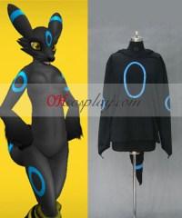 Pokemon Umbreon Hoodie Jacket Cosplay Costume ...