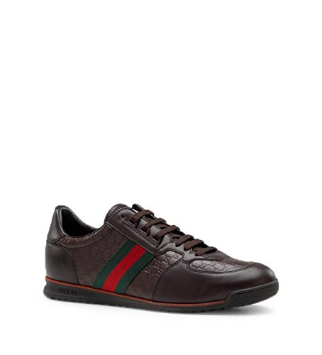 6390c00efa1 Gucci Men s  SL 73  Guccissima Leather with Web Detail Sneaker