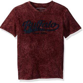Buffalo by David Bitton Big Boys' Nexis Short Sleeve Tee Shirt, Nori, Small (8)