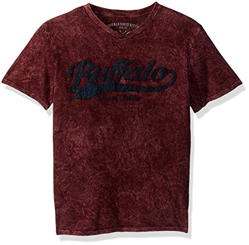 Buffalo by David Bitton Big Boys' Nexis Short Sleeve Tee Shirt, Nori, Small (8)