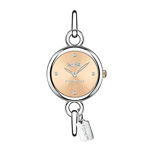 COACH Women's Hangtag Bangle - Rose Gold One Size
