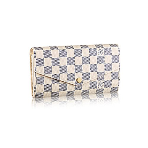 Authentic Louis Vuiton Damier Canvas Sarah Wallet Article: N63208
