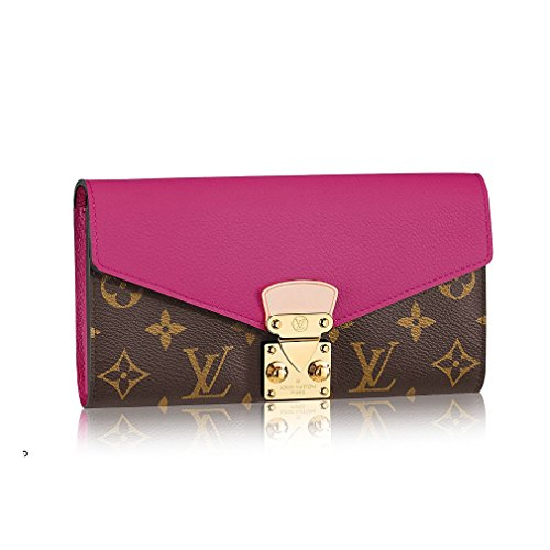 Louis Vuitton Monogram Canvas Pallas Wallet M56241 Grape Made in France