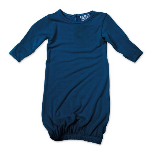KicKee Pants Layette Gown, Twilight, Newborn
