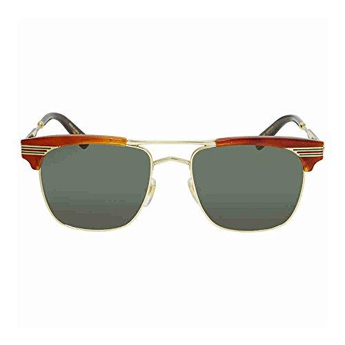 Gucci Green Square Sunglasses