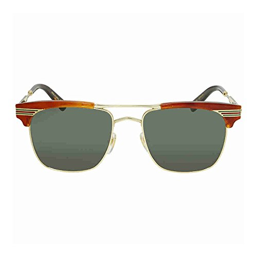 Gucci Green Square Sunglasses