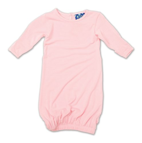 KicKee Pants Layette Gown, Lotus, Newborn