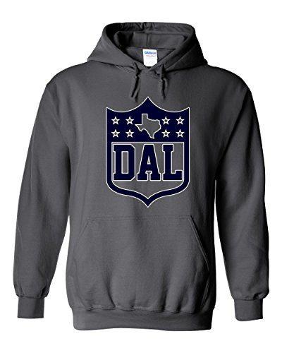 America's Finest Apparel Dallas Texas Shield Hoodie (XL)