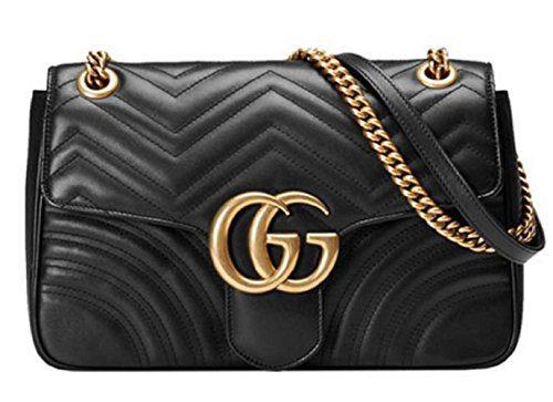 Gucci Women's GG Marmont Medium Inclined Shoulder Bag