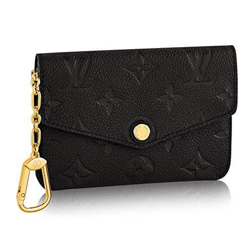 Louis Vuitton Monogram Empreinte Leather Key Pouch Noir Article