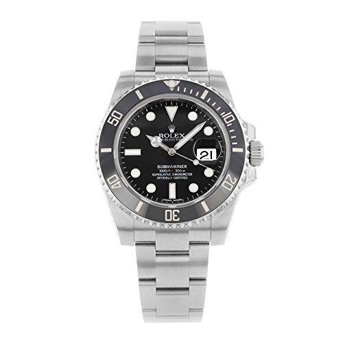 Rolex Submariner Date Black Dial Ceramic Bezel Men's Watch