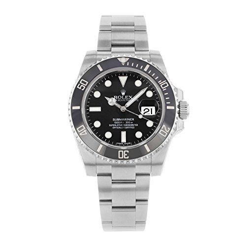 Rolex Submariner Date Black Dial Ceramic Bezel Men's Watch
