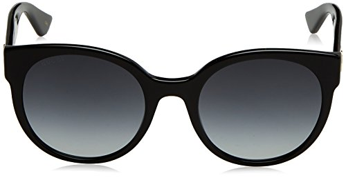 026a8d3312 Home   Shop   Men   Accessories   Sunglasses   Eyewear   Gucci Black Round  Sunglasses Lens Category 3 Size 54mm
