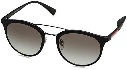 Prada Sport Round Sunglasses, Black, 51mm