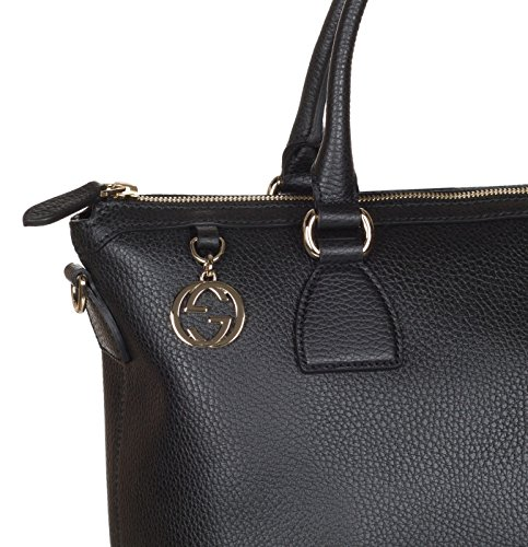 Home   Shop   Women   Accessories   Handbags   Wallets   Gucci Black Calf  Leather GG Pendant Hobo Shoulder Bag 6e6e4996e756c