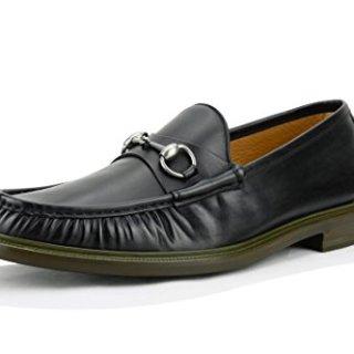 Gucci Men's Horsebit Loafer, Black (Nero),(12 US/11.5 UK)
